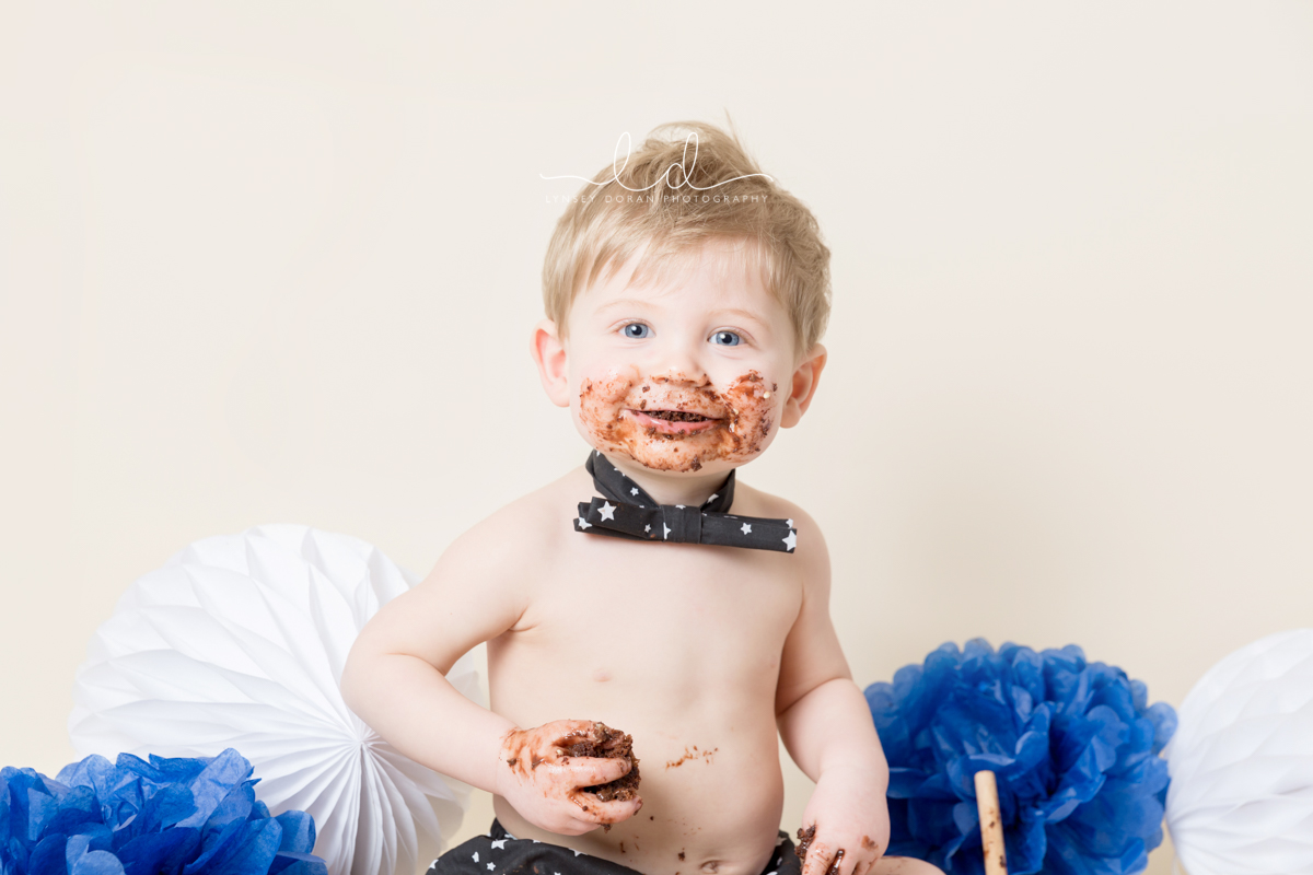 Cake Smash Photographers Leeds | First Birthday Cake Smash Photoshoots West Yorkshire-10