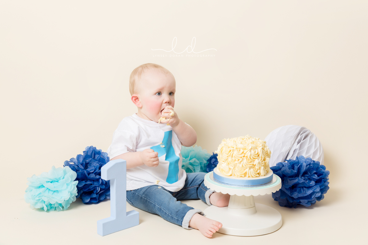 Cake Smash Photographers Leeds | First Birthday Cake Smash Photoshoots West Yorkshire-14