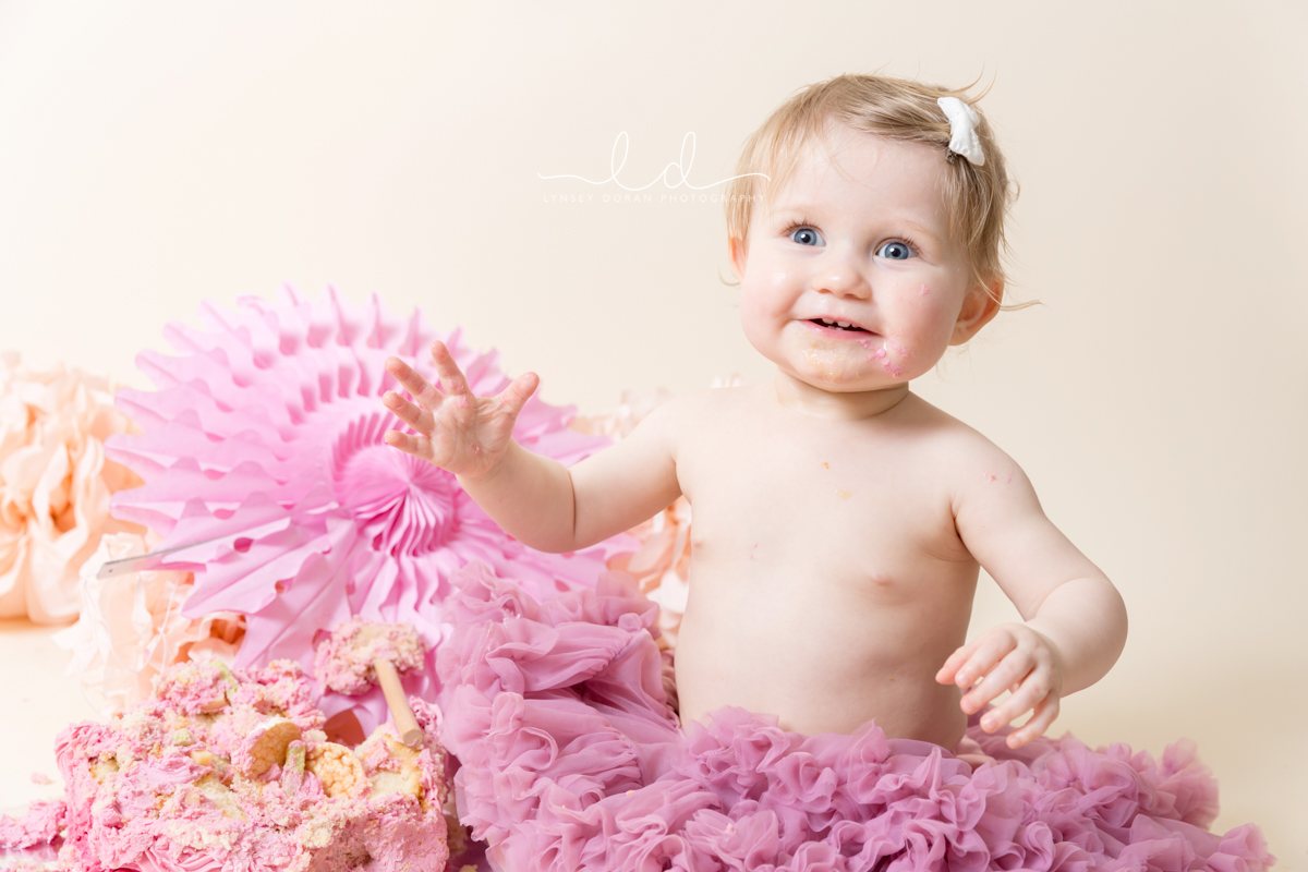 Cake Smash Photographers Leeds | First Birthday Cake Smash Photoshoots West Yorkshire-5