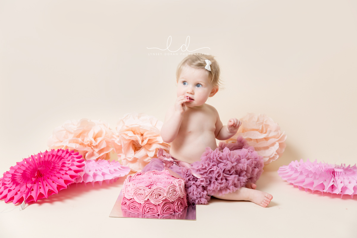 Cake Smash Photographers Leeds | First Birthday Cake Smash Photoshoots West Yorkshire