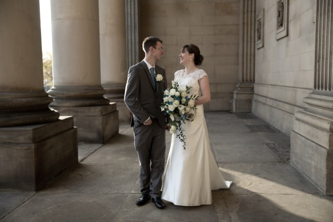 Wedding photography - Leeds Town Hall