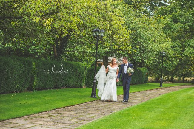 hazlewood castle wedding photographs leeds