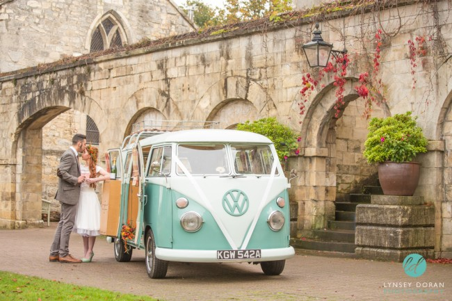 Vintage Wedding Camper Vans Photography