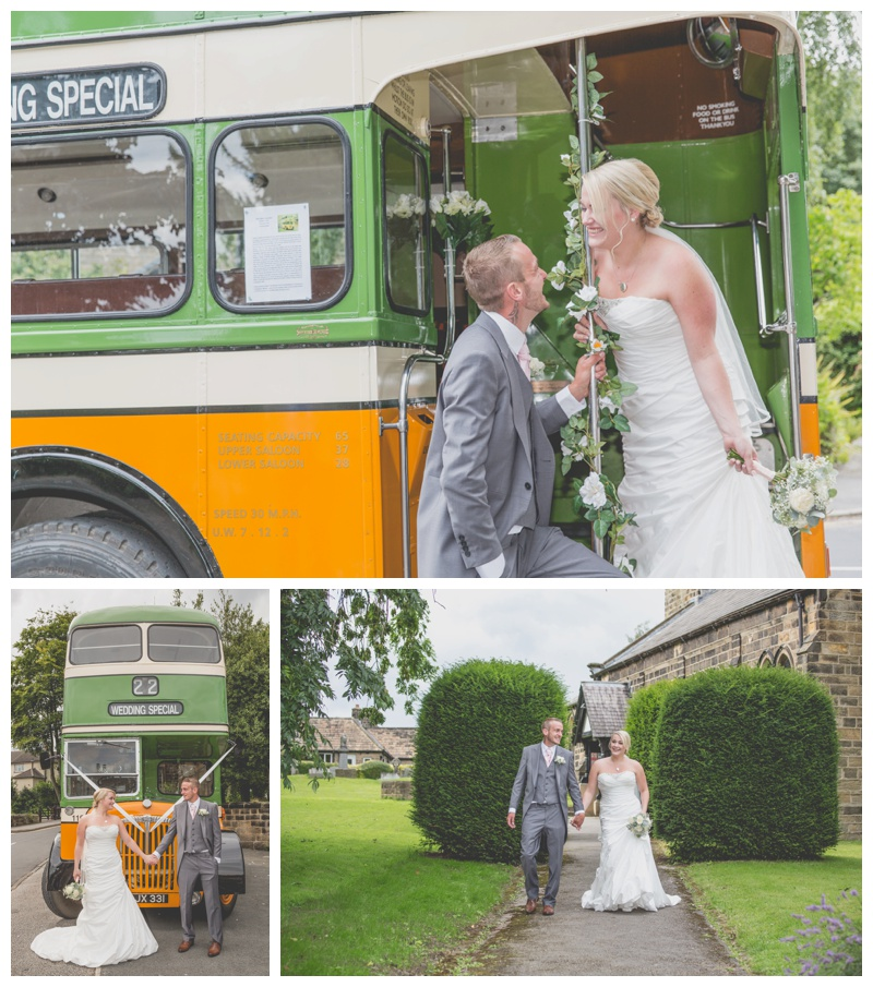 wedding vintage bus hire leeds