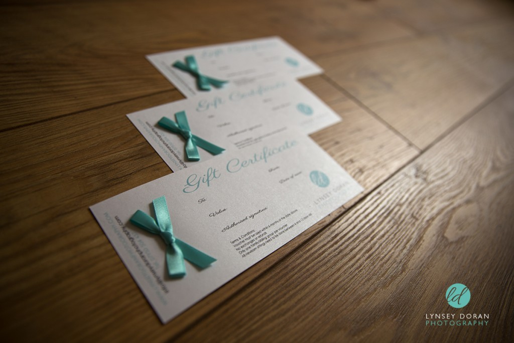 Photography Gift vouchers leeds