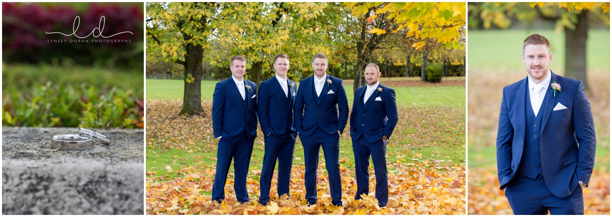 groomsmen wedding photos leeds