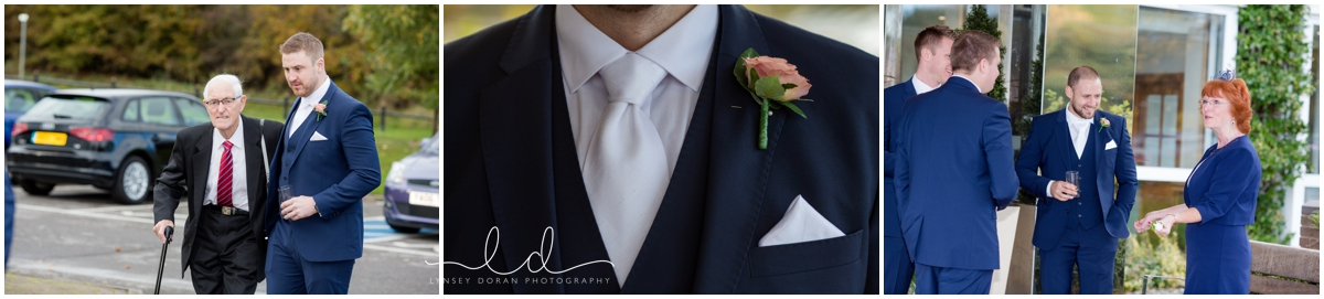 Relaxed wedding photography Yorkshire