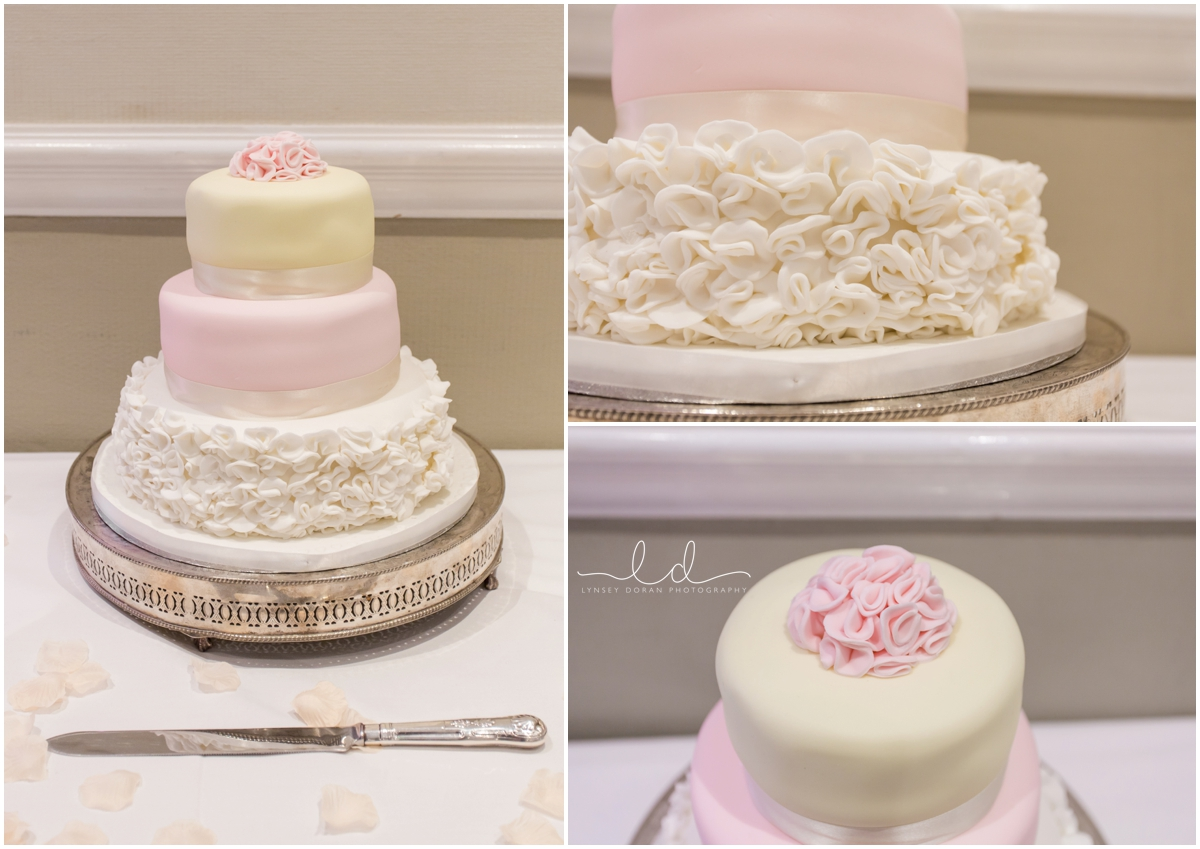 Wedding cakes leeds