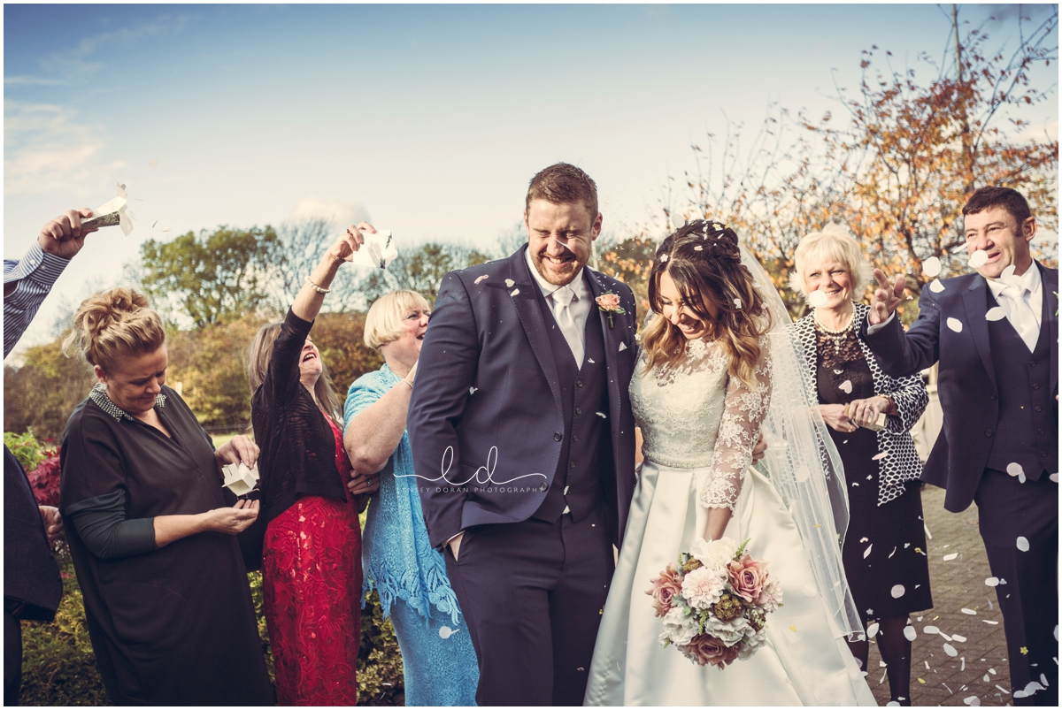 Wedding Photography Confetti shots
