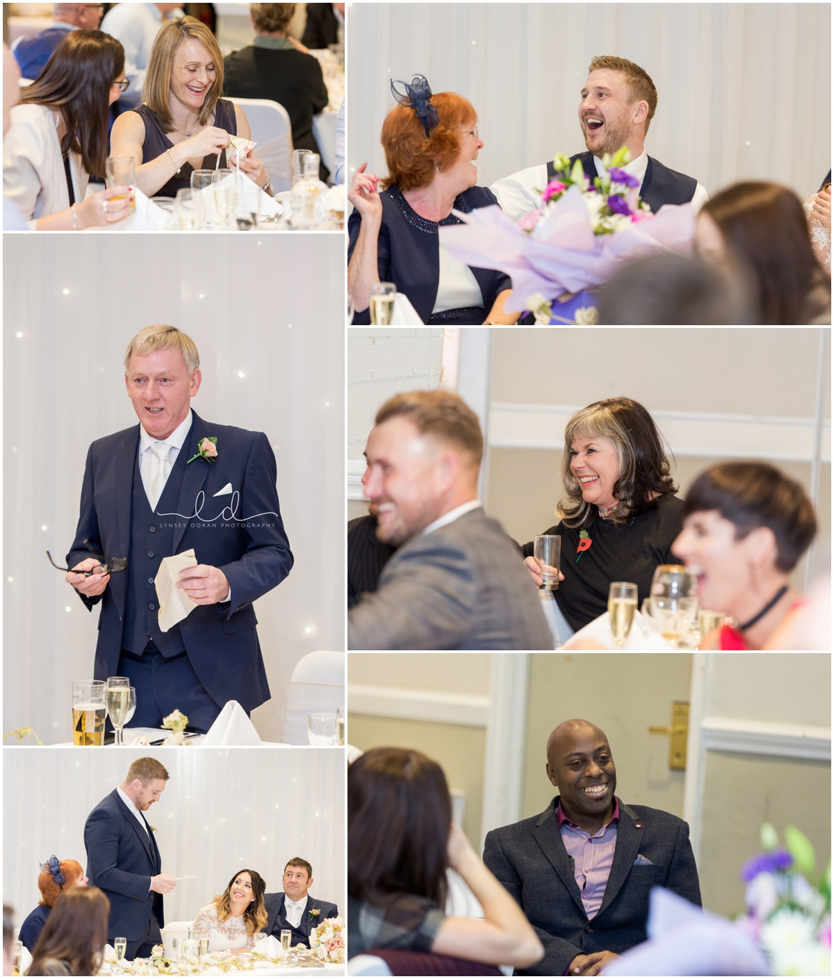 Speeches Wedding photography west yorkshire