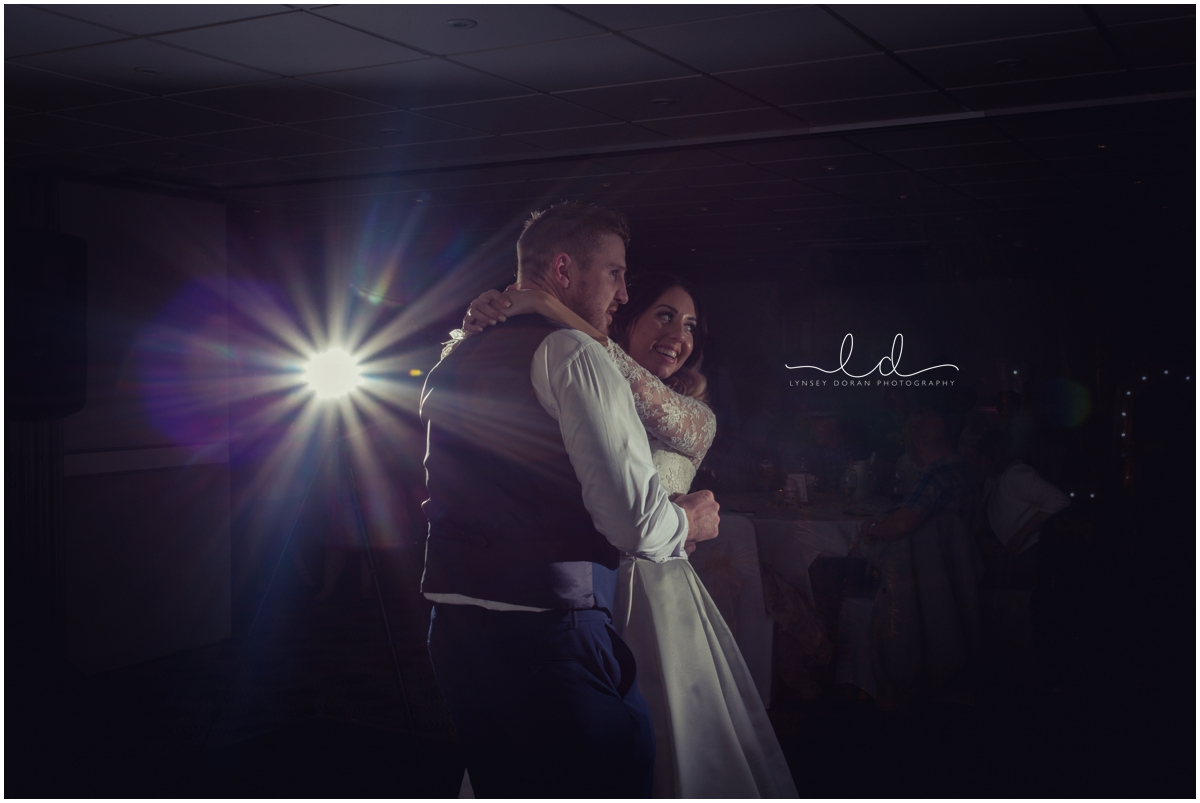 first dance wedding photo holiday inn leeds