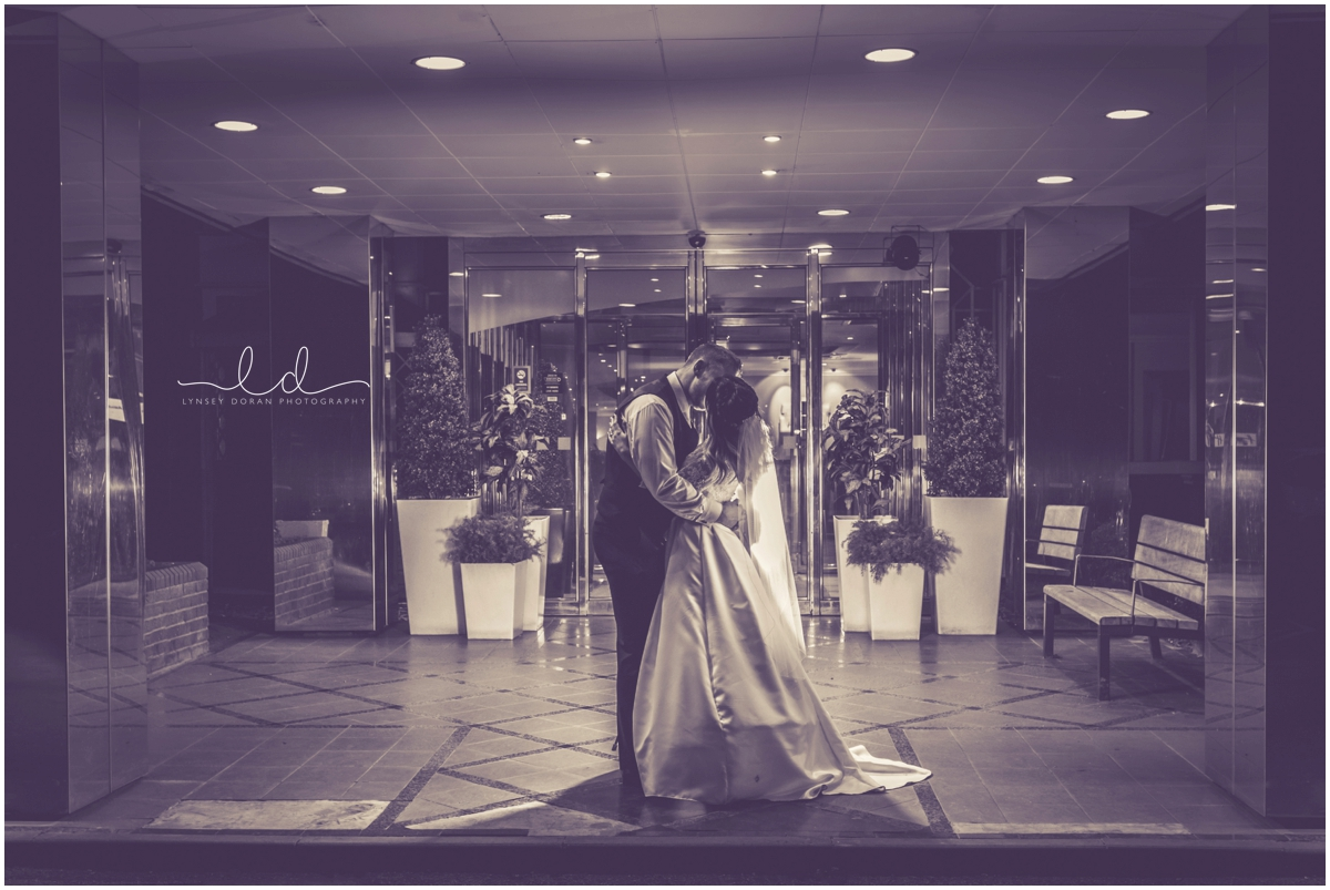 leeds outdoor night time wedding photos
