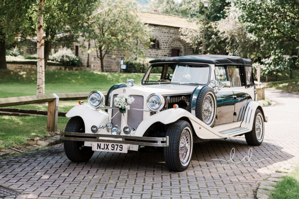 Vintage Wedding Car hire Yorkshire
