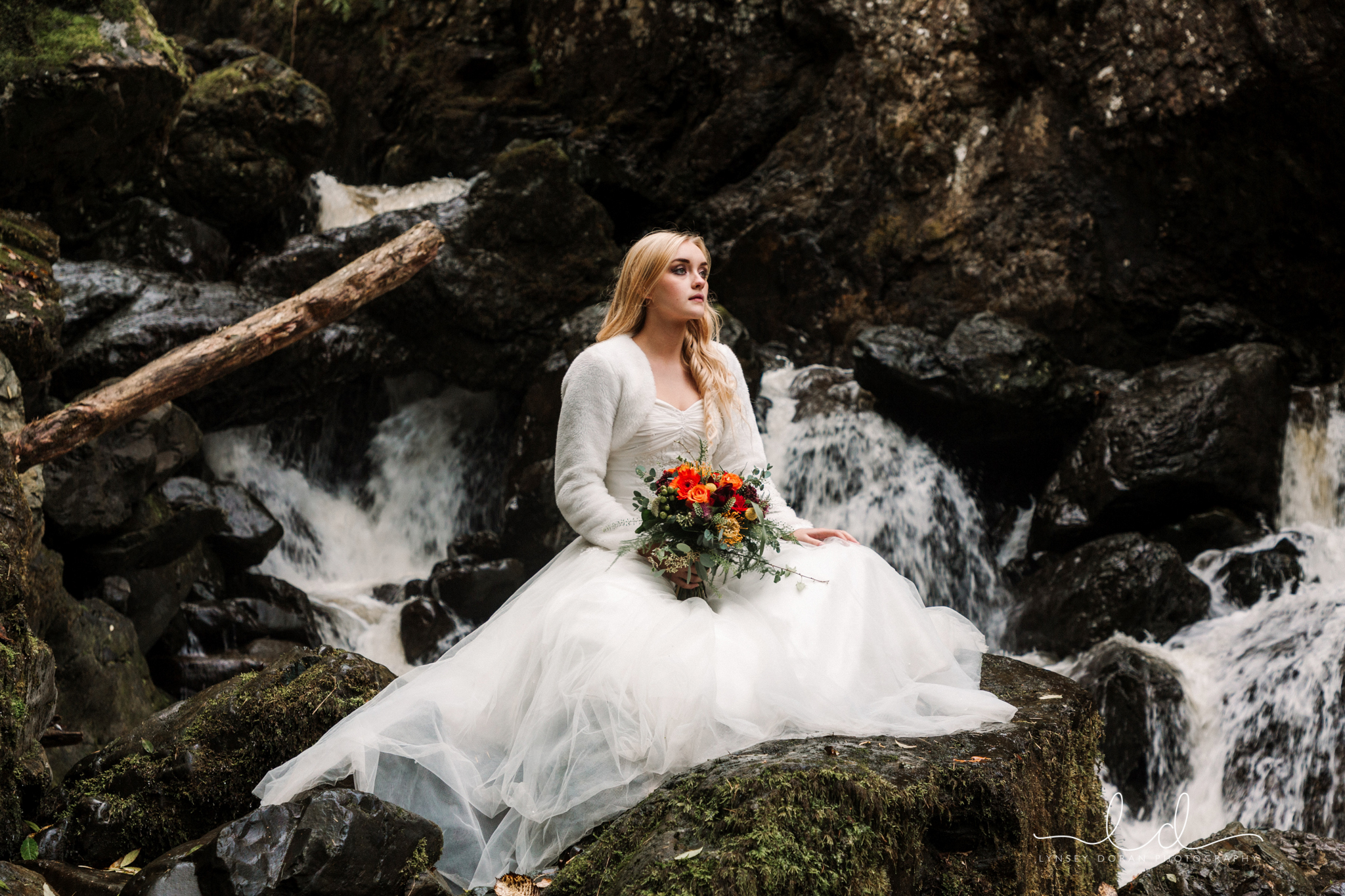 Lodore falls wedding photography