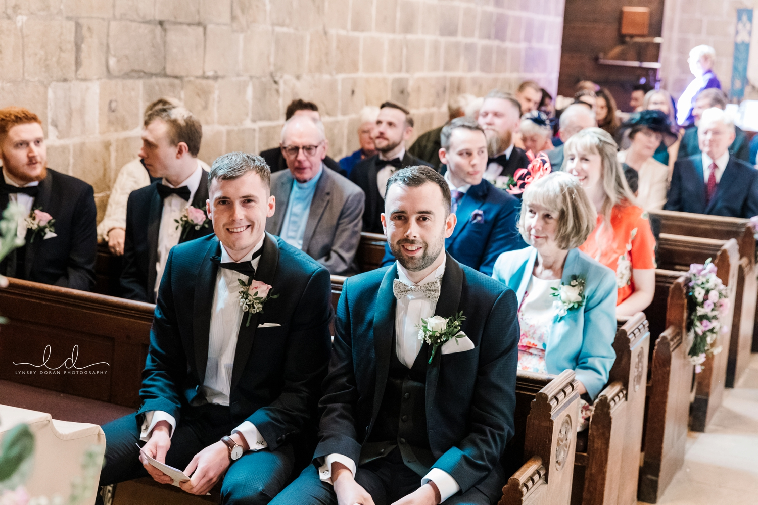 Wedding photography at Wharfedale Grange