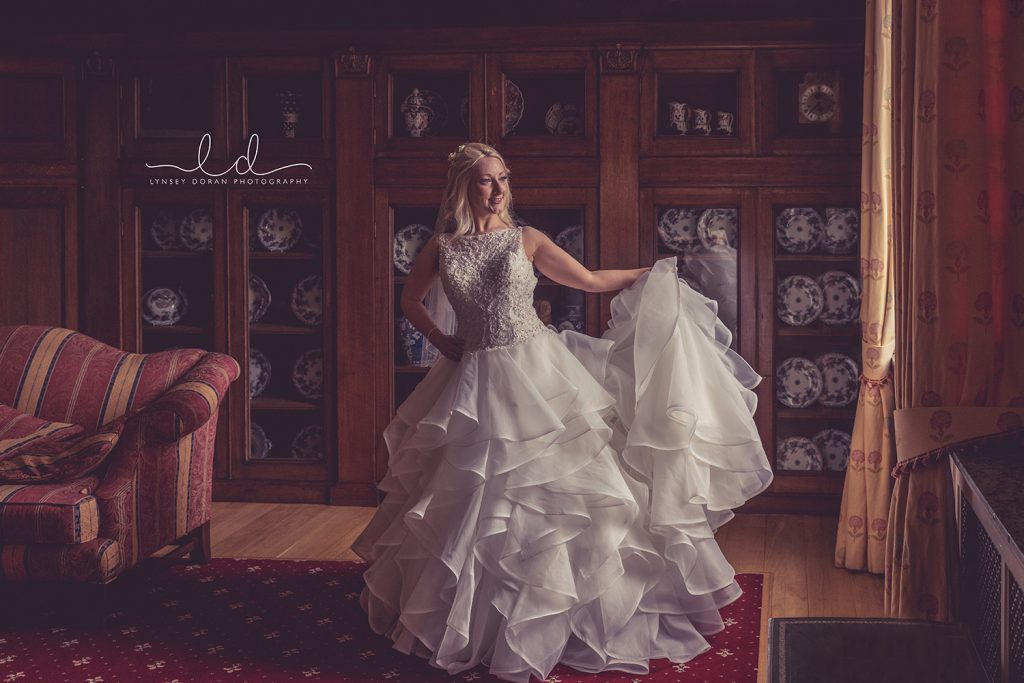 denton hall wedding photographs